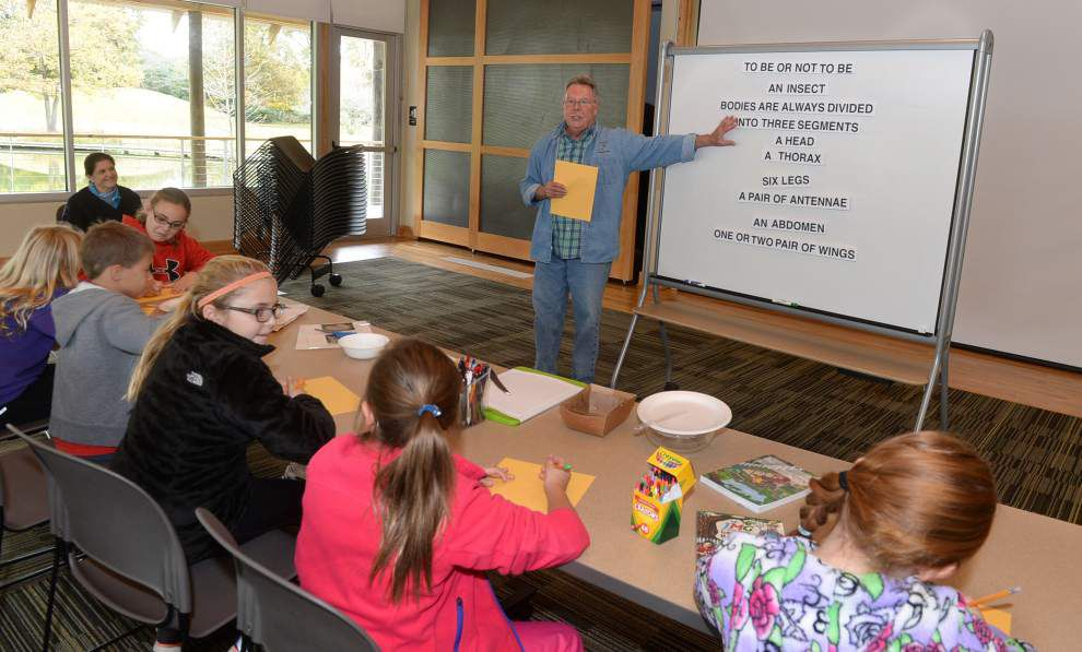 Students track bugs, mushrooms, acorns in 2-day camp _lowres