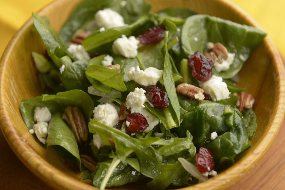 Wilted Spinach Salad _lowres
