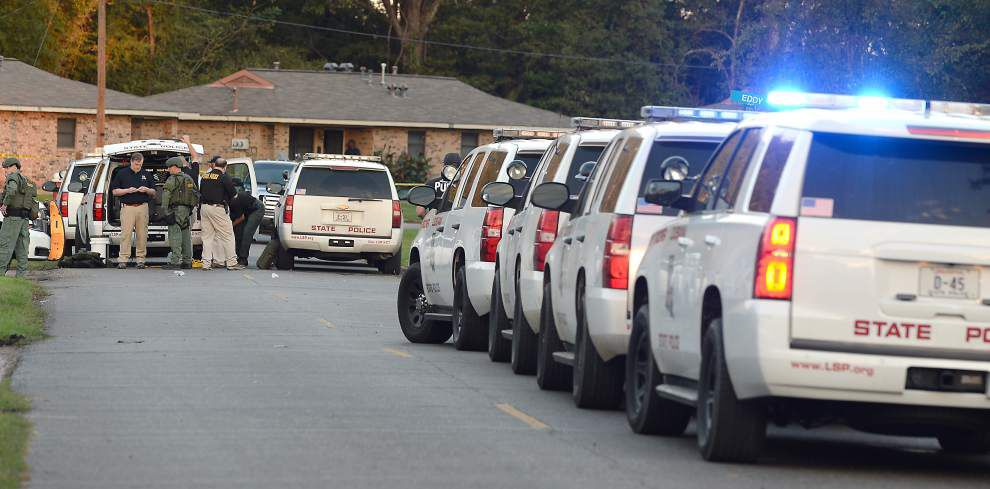 Authorities try to sort out details of marshal-involved Marksville shooting that left child dead, father wounded _lowres