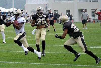 Video: The best moments from the Saints' training camp at The Greenbrier _lowres