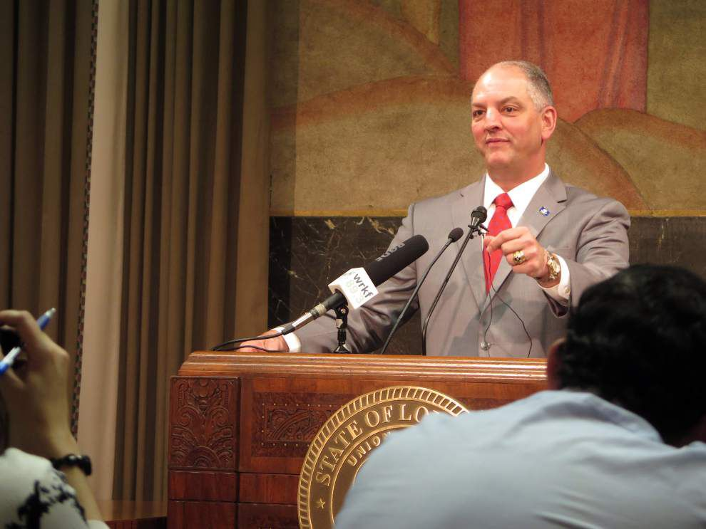 'Sense of urgency ought to be increasing every day' for lawmakers, Gov. John Bel Edwards says of current special session _lowres