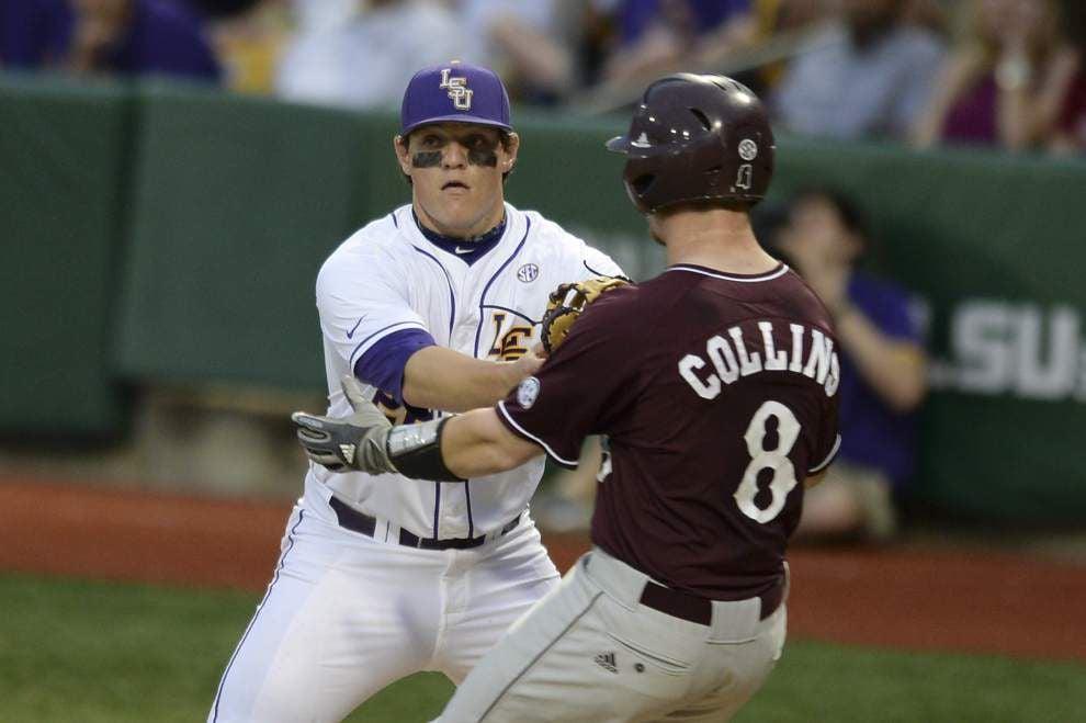 LSU baseball pregame: Mississippi State at LSU _lowres