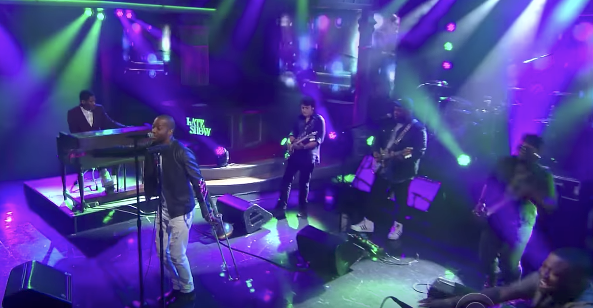 """Watch: Trombone Shorty performs """"Here Come the Girls"""" on The Late Show With Stephen Colbert_lowres"""