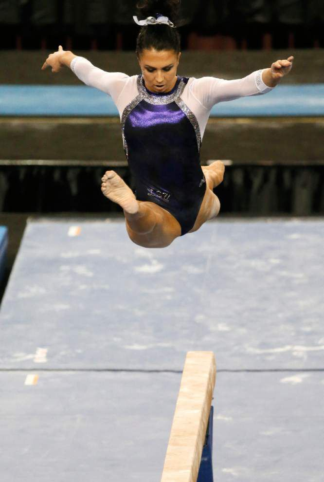 After tough Friday night, Tigers gymnasts get chance at individual events honors at NCAA meet _lowres