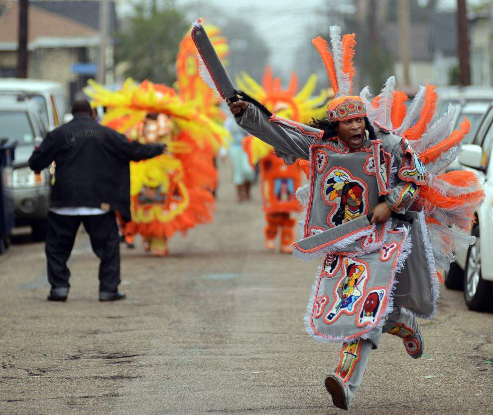 Grant to help build 'cultural campus' hub for Mardi Gras Indians in Central City _lowres
