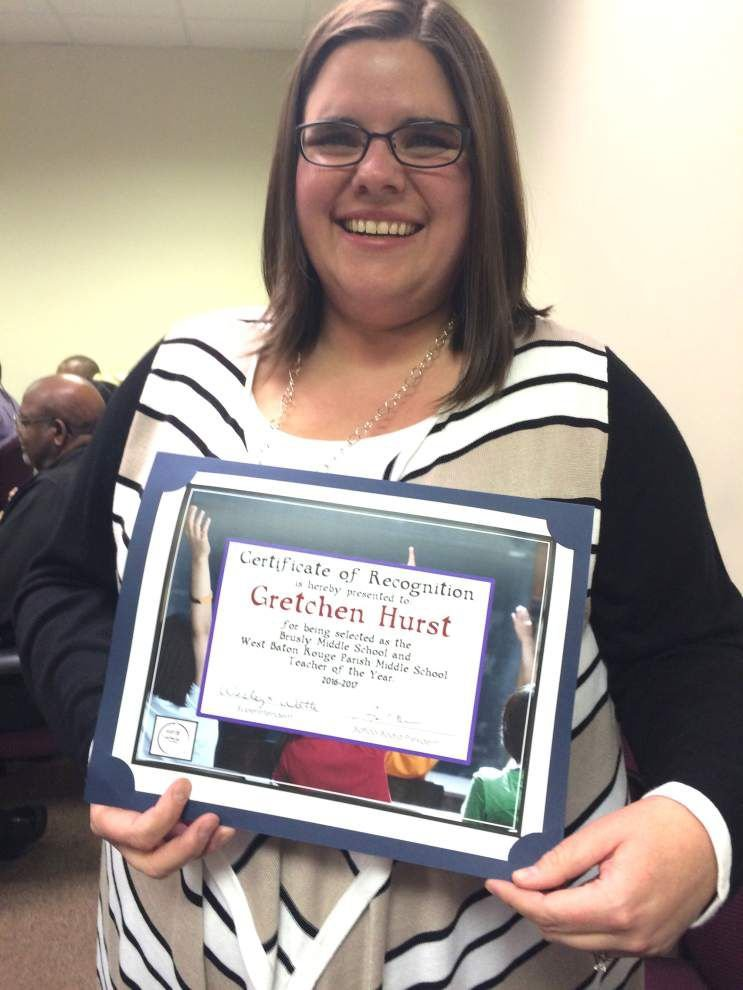 Zachary resident named WBR Teacher of the Year _lowres
