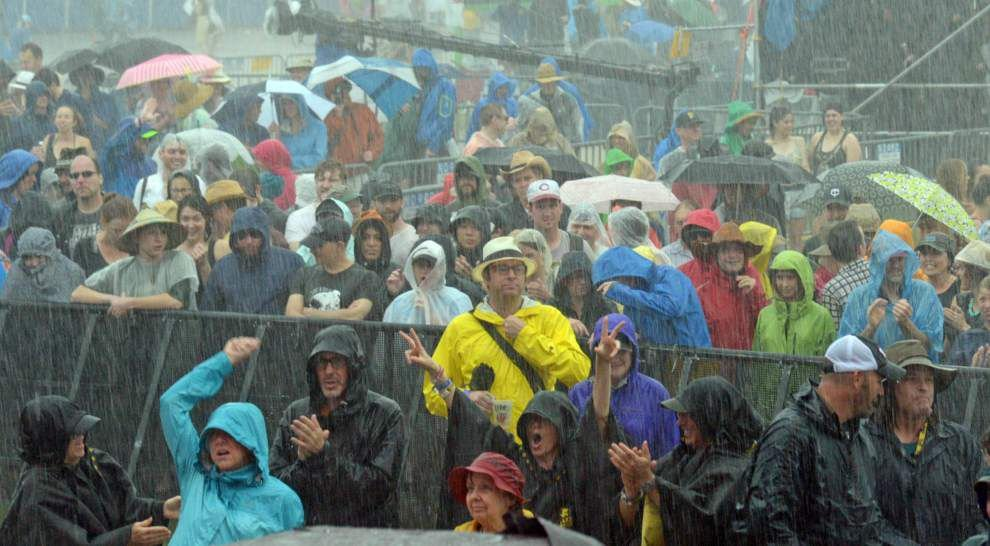 Don't let rain get you down: Saturday Jazz Fest tickets valid Sunday _lowres