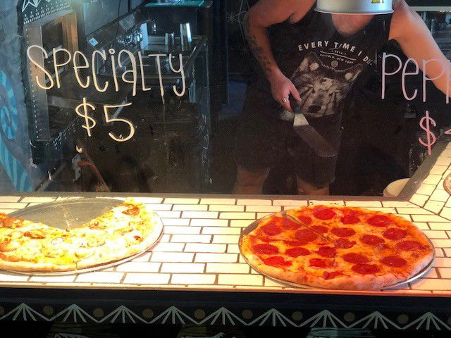 Art, pizza and booze: 10 Foot Pizza opens on N. Rampart Street_lowres