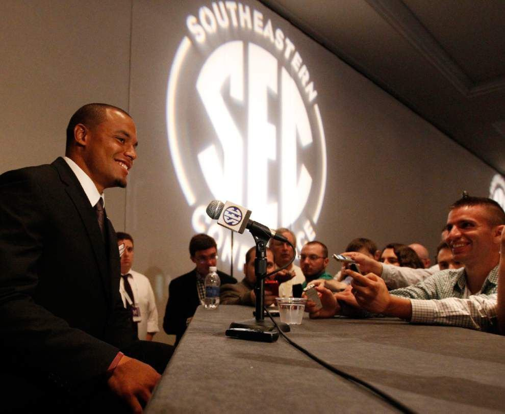 Live updates from Thursday's SEC media days _lowres
