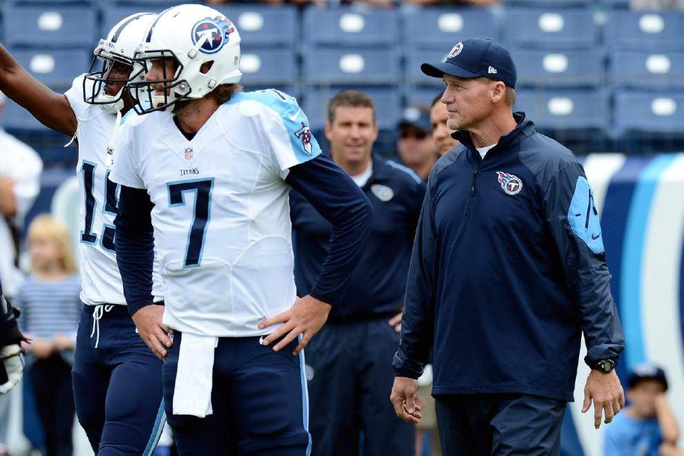 Reports: Former LSU quarterback Zach Mettenberger to start for the Tennessee Titans on Sunday _lowres