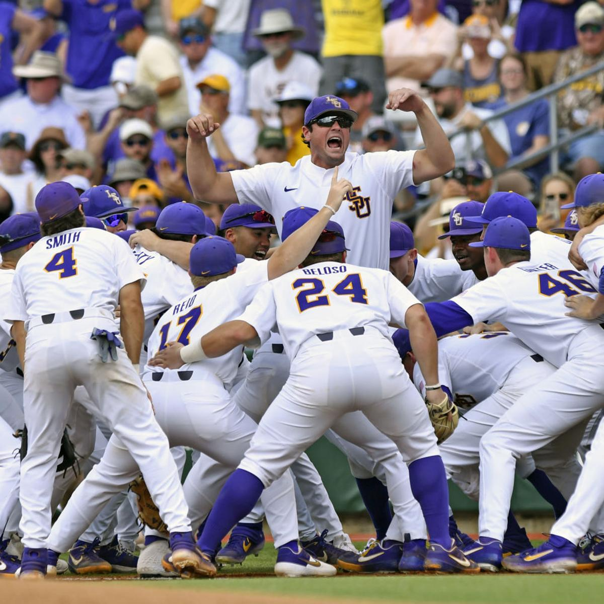 See the schedule for LSU baseball at Houston's Minute Maid