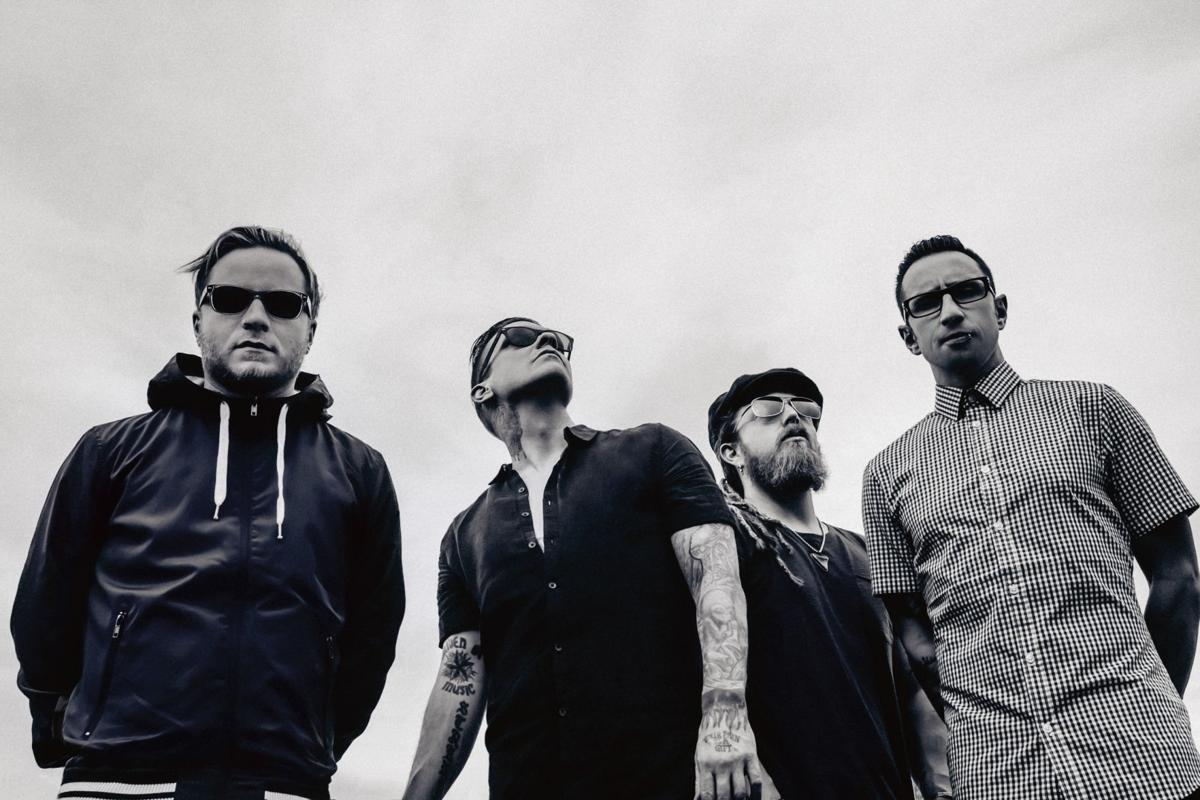 Shinedown press still for Red