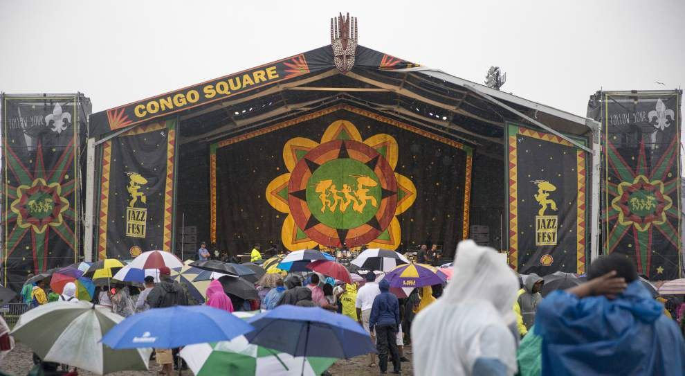Photos, video: On 2016 New Orleans Jazz Fest's final day, forget the rain! Let good times roll... _lowres