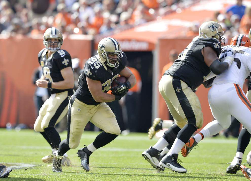 Live updates during the Saints at Cleveland Browns game _lowres
