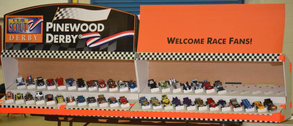 Cub Scouts partake in educational fun at pinewood derby _lowres