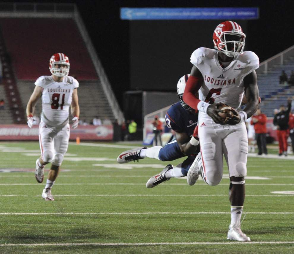 Ragin' Cajuns' QB rotation, with Brooks Haack and Jalen Nixon, returns in loss to South Alabama _lowres