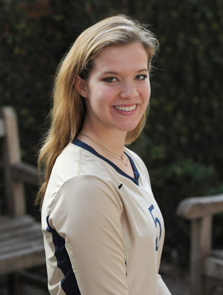 Elise Gasperecz of St. Joseph's and Alexandra Mitchell of Episcopal top The Advocate's All-Metro volleyball teams _lowres