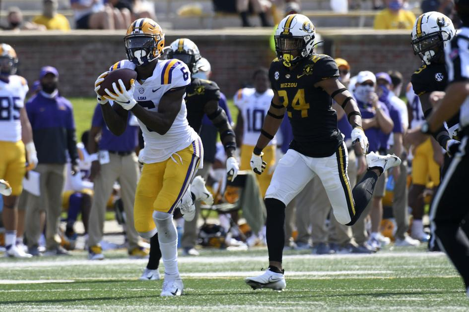 Terrace Marshall, star LSU wide receiver, decides to opt out the rest of the season: source