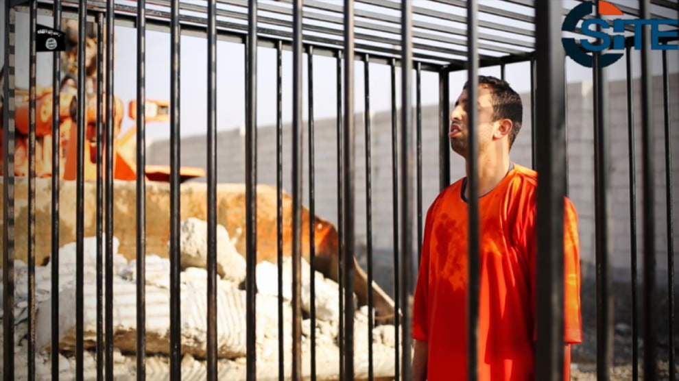Jordan executes prisoners after pilot burned alive _lowres