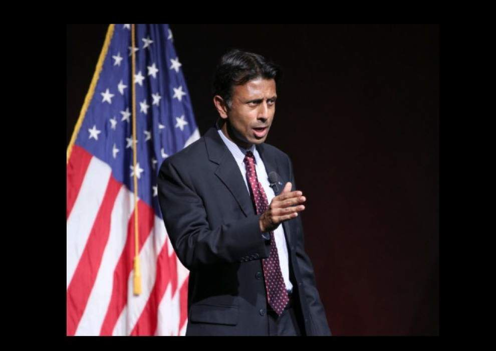 Politics blog: Jindal tells reporters in Iowa he welcomes Jeb Bush's presidential run _lowres