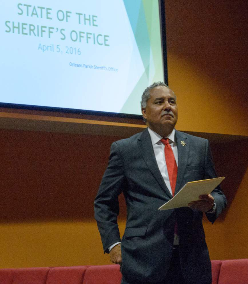 In 'State of the Sheriff's Office' address, Marlin Gusman says: We've made progress; sometimes it just doesn't make news _lowres