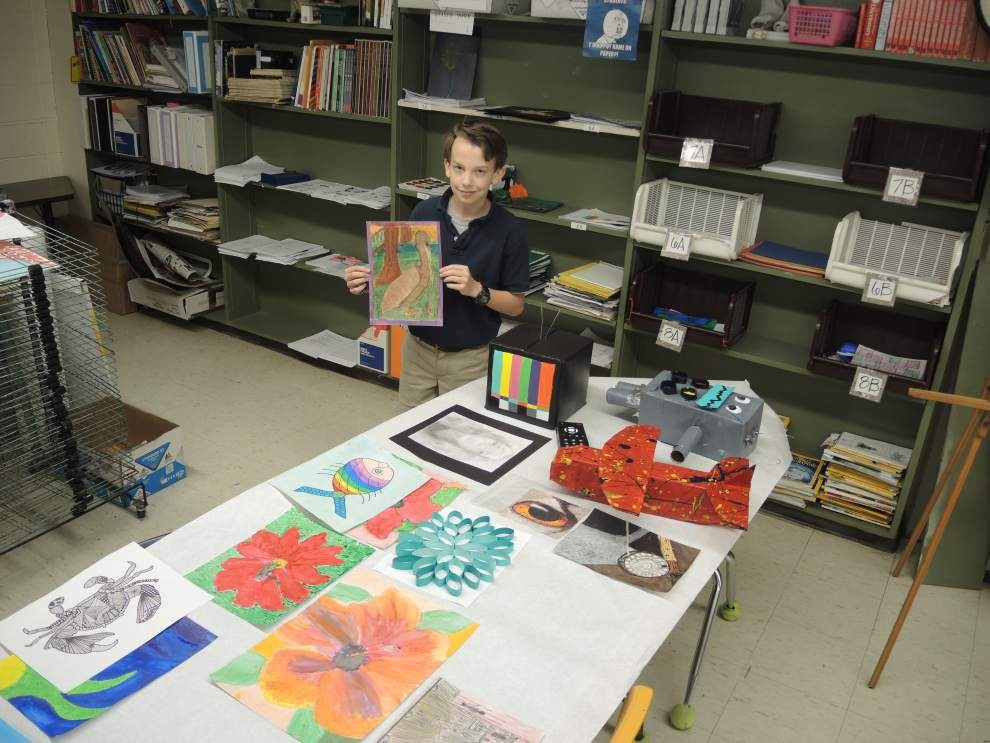 Artistic discoveries on display in Dutchtown _lowres