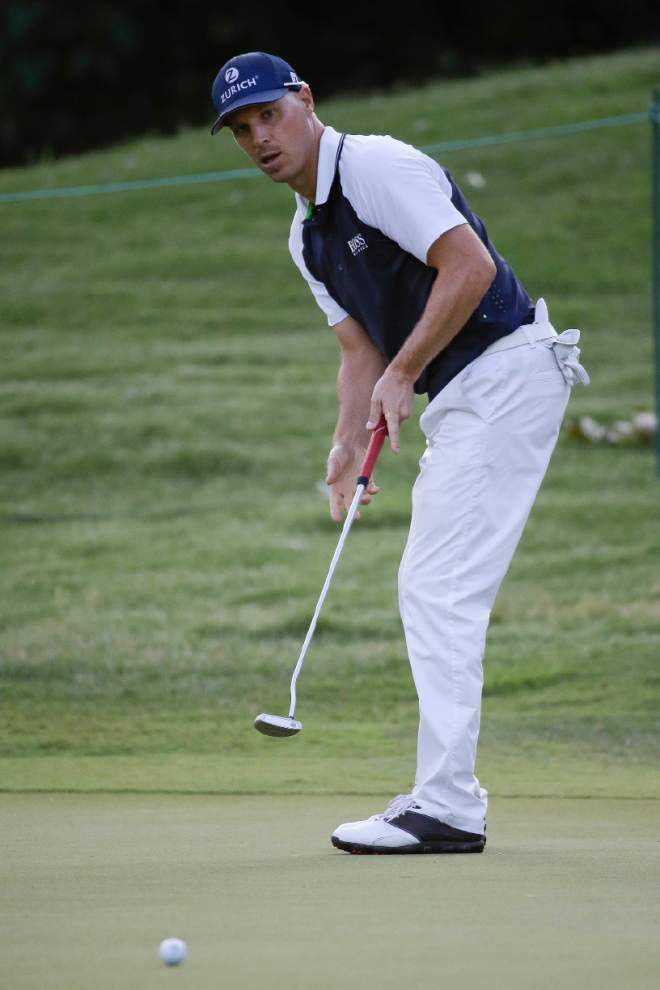 Ben Crane cards 63, atop leaderboard at St. Jude Classic _lowres