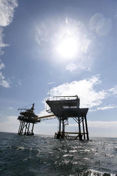 Louisiana Oil Rig