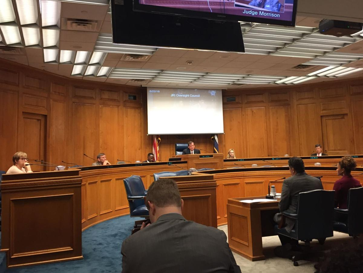 Justice Reinvestment Oversight Council meeting June 22, 201.jpg