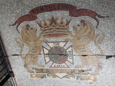 Monteleone mosaic at Angela King Gallery