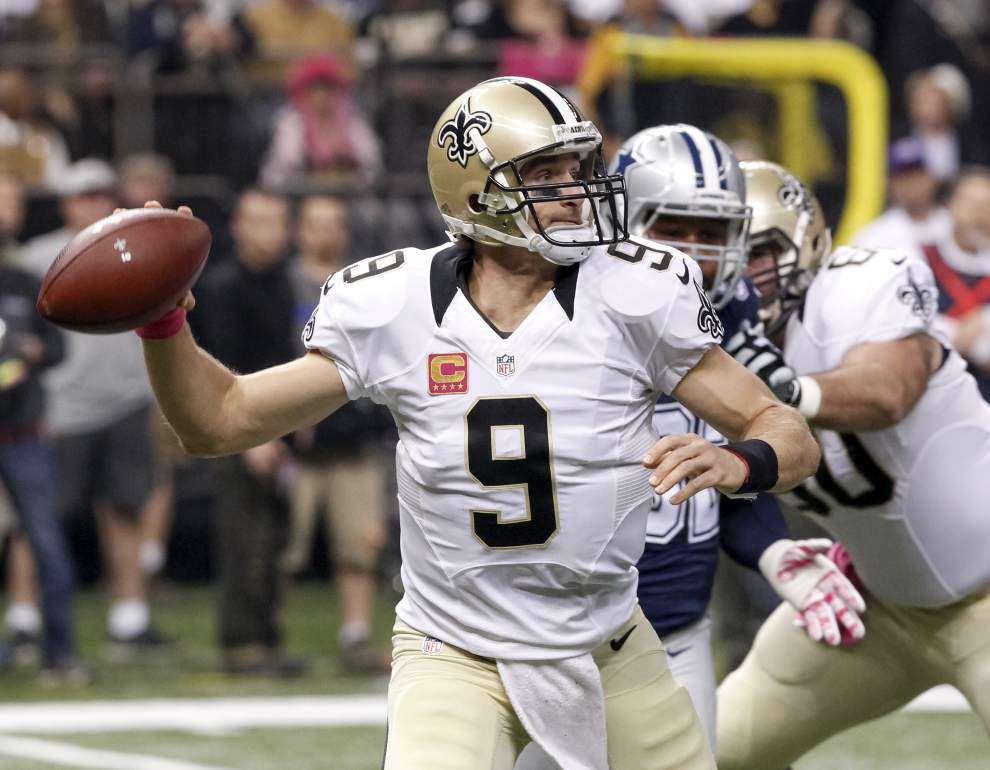 Letters: It's time we supported the heroes we have like Saints quarterback Drew Brees _lowres
