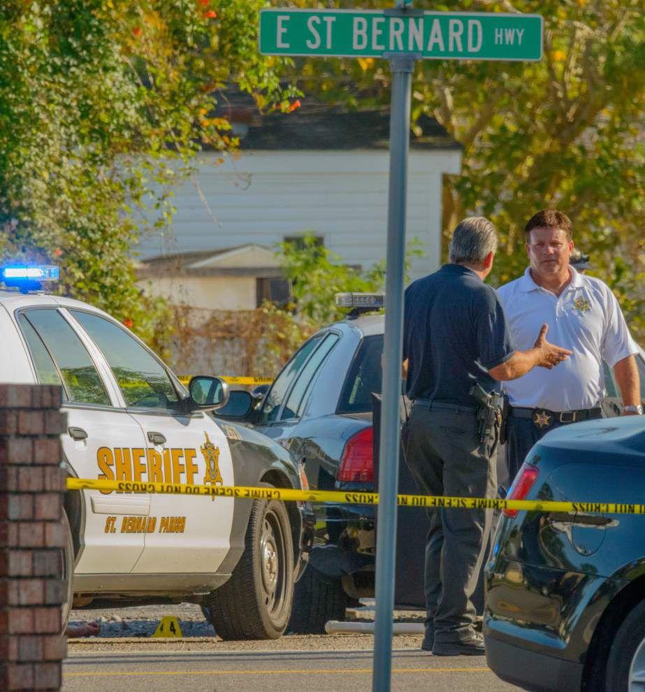 St. Bernard deputy kills man in Chalmette; a deputy treated for blows to the head _lowres