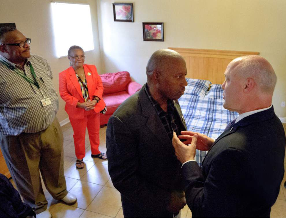 Transitional house offers training, hope for ex-cons _lowres