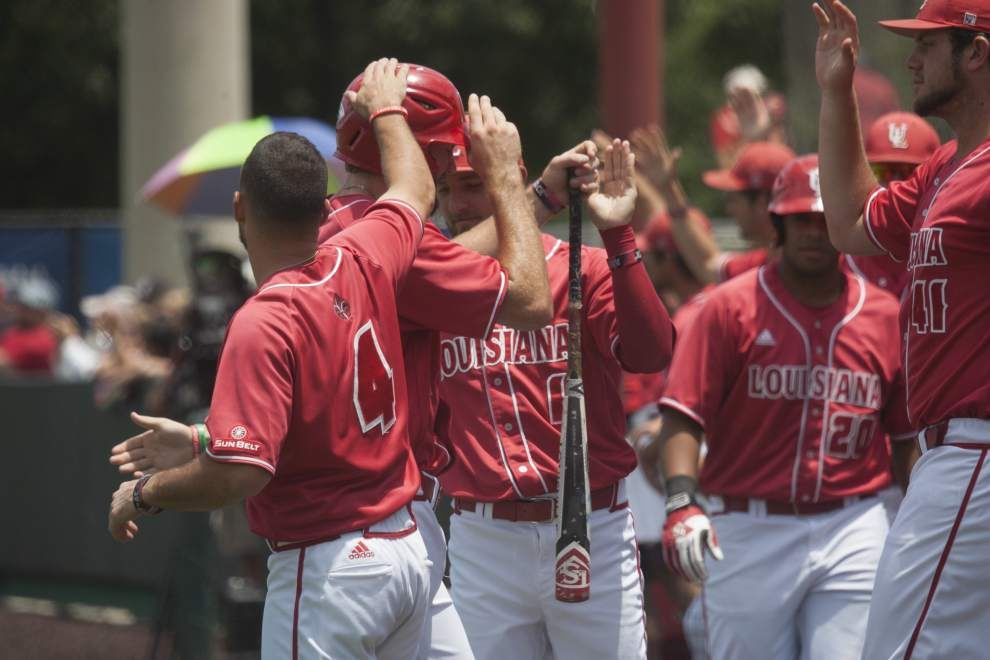 Despite their anemic batting average in the Houston regional, the Cajuns came through when they needed to _lowres