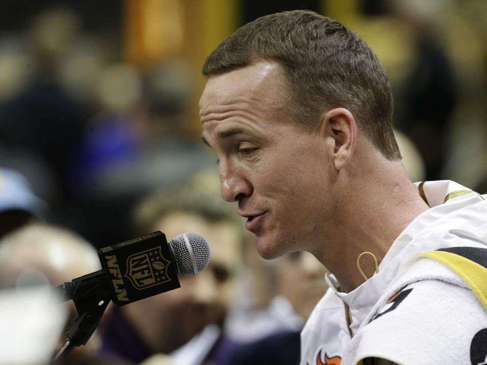 Peyton Manning looking forward to spending time with Eli before Super Bowl _lowres