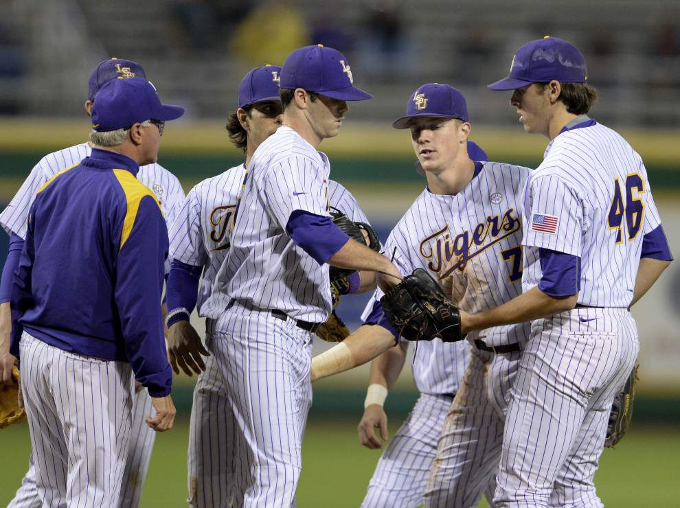 LSU baseball notebook: Led by Alden Cartwright, Jack Wholestaff returns Wednesday against UNO _lowres