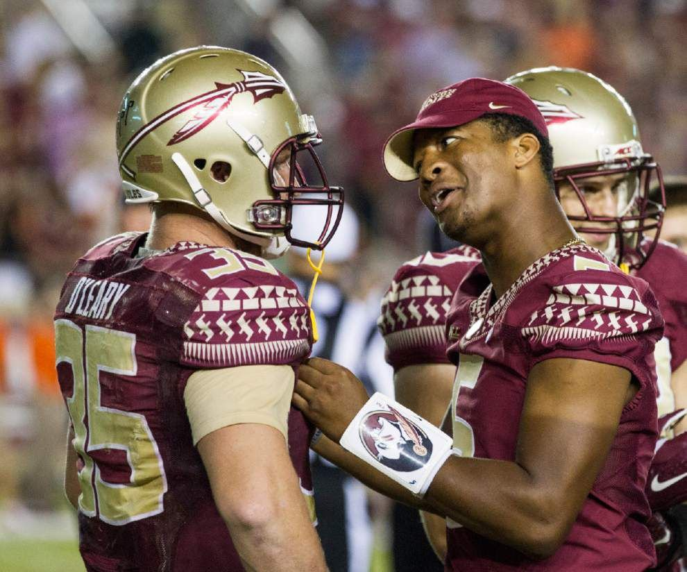 College football: Jimbo Fisher says Jameis Winston's suspension 'really hit home' _lowres