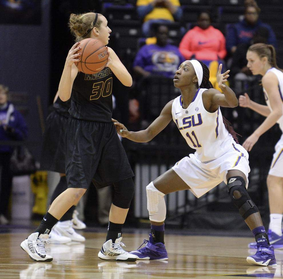 LSU's Raigyne Moncrief named SEC player of the week _lowres