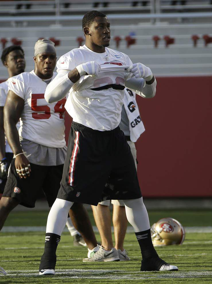 49ers release Aldon Smith after latest arrest _lowres