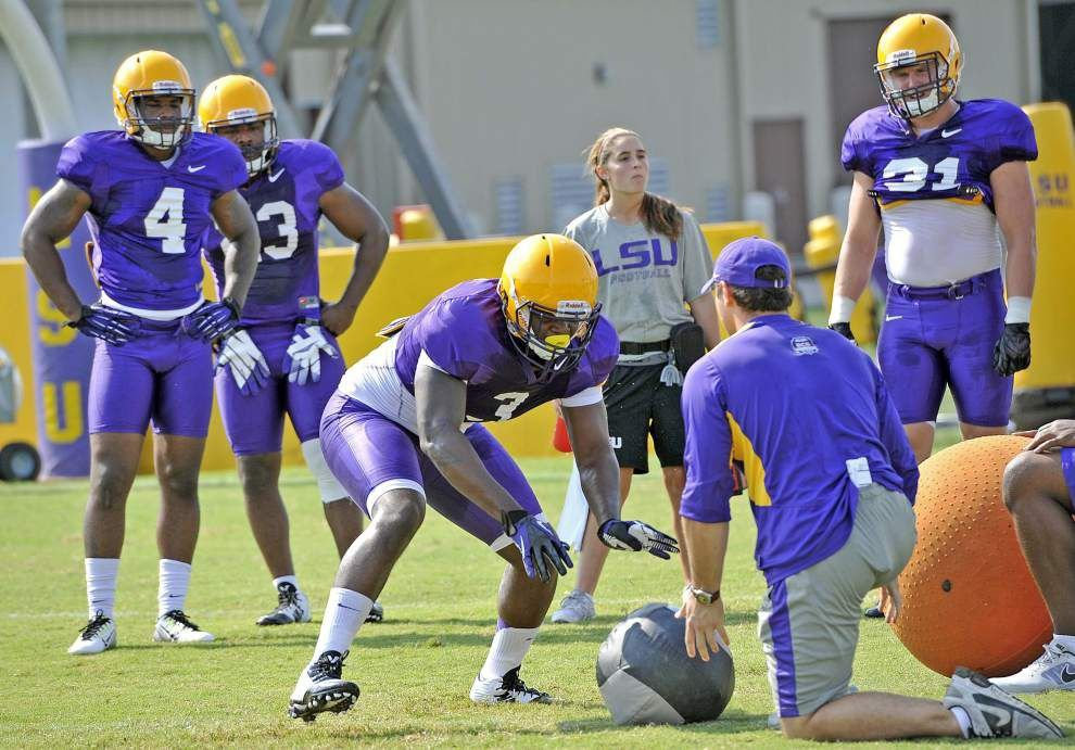 LSU camp rail: Closer look at Clifton Garrett, quotes and injury update _lowres