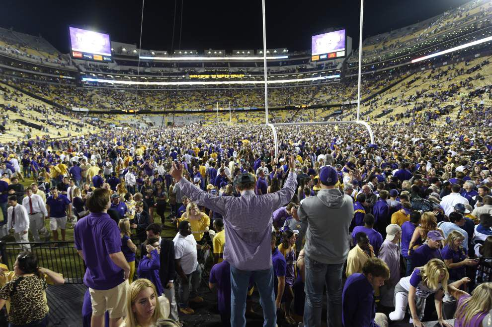 Rabalais: History is on the Tigers' side as LSU snuffs Ole Miss' hopes again _lowres
