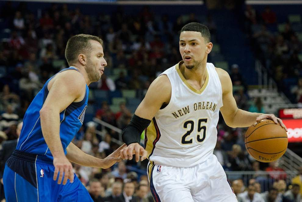 Report: Pelicans trading Austin Rivers to Boston Celtics, although he may end up playing for his dad with the Los Angeles Clippers _lowres