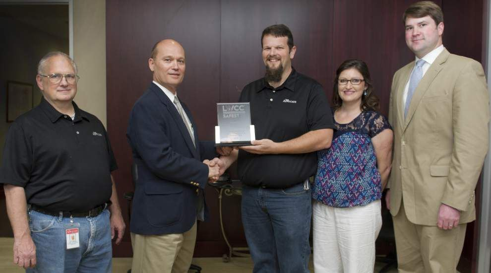 The Advocate receives LWCC Safest 70 Award _lowres
