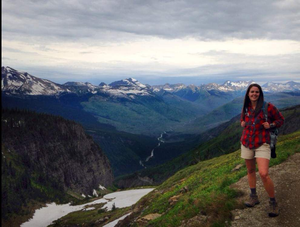 BR teacher's vacation spent working in Montana mountainside _lowres