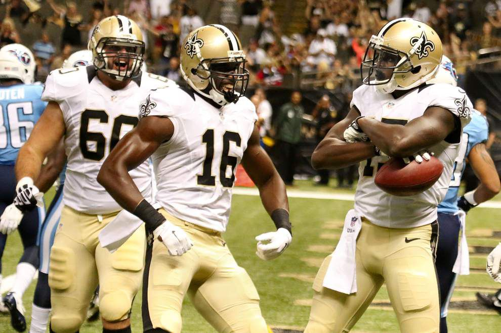 Saints' defense prevails in 2-minute drills and rookie Brandon Coleman rebounds in Monday practice _lowres