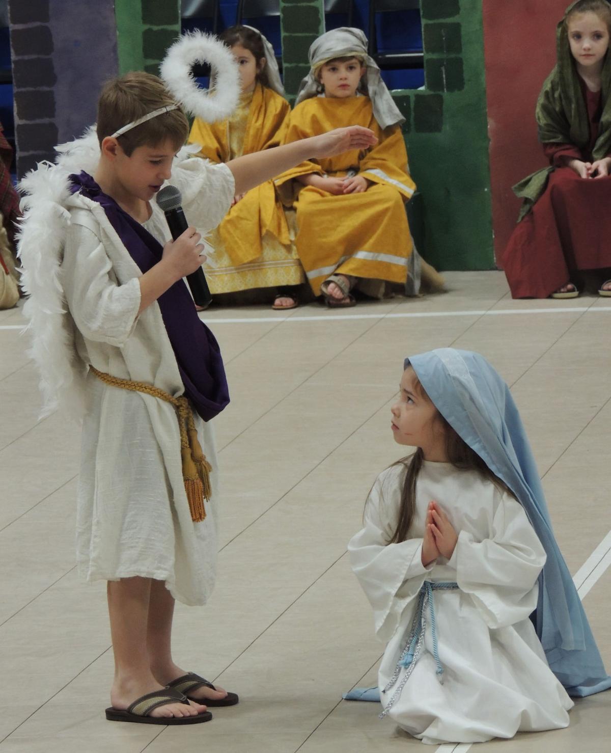 Holy Ghost Catholic School Kindergartners Perform Christmas Play