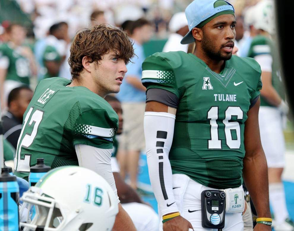 Tulane quarterback Tanner Lee's status still unclear for game at Navy on Saturday _lowres