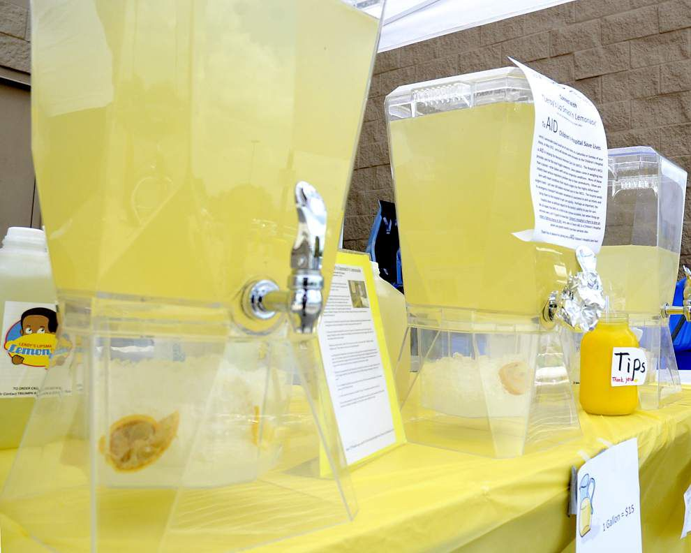 A Child Gives Back: Baton Rouge 8-year-old's lemonade stand helps hospitals that helped him _lowres