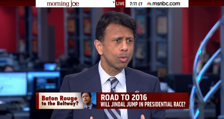 Gov. Bobby Jindal meets the press - and it doesn't go well_lowres