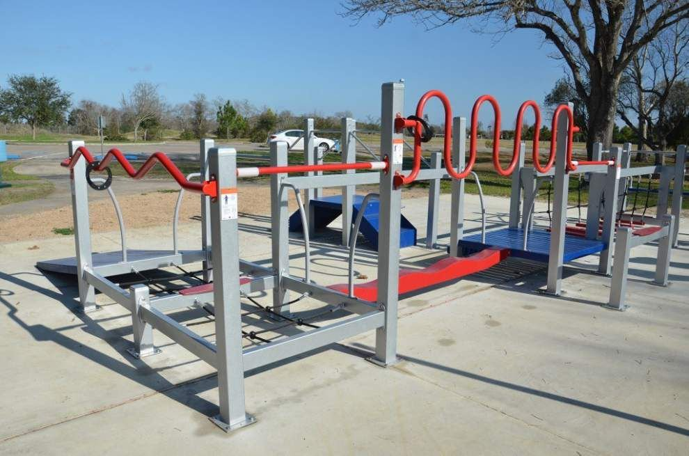 No kidding around: BREC's new 'playground' for seniors designed to reduce injuries, boost health _lowres